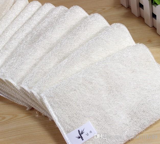 الخيزران الألياف غير النفط غسل صحن القماش صحن منشفة المطبخ خرقة باستثناء النفط 27 * 30 سنتيمتر 20 قطع
