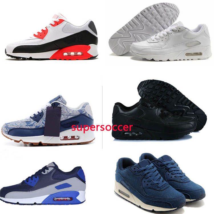 Homens sapatilhas homens clássicos e mulheres Running Shoes instrutor Sports Cushion superfície respirável Sports Shoes 36-45