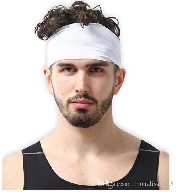 Explosive sports headband running exercise sweat-absorbent hair band outdoor riding anti-sweat hair band 8 color in stock 2019!