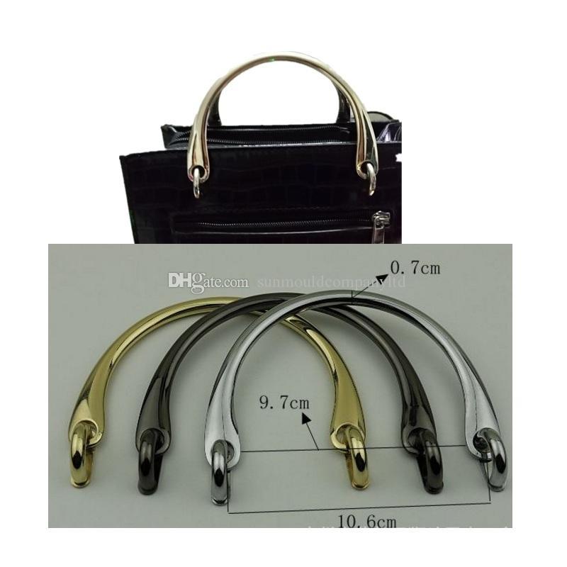 Borsa a tracolla della borsa della frizione del sacchetto di spalla delle donne libere di trasporto mini sacchetti del metallo Maniglia la catena