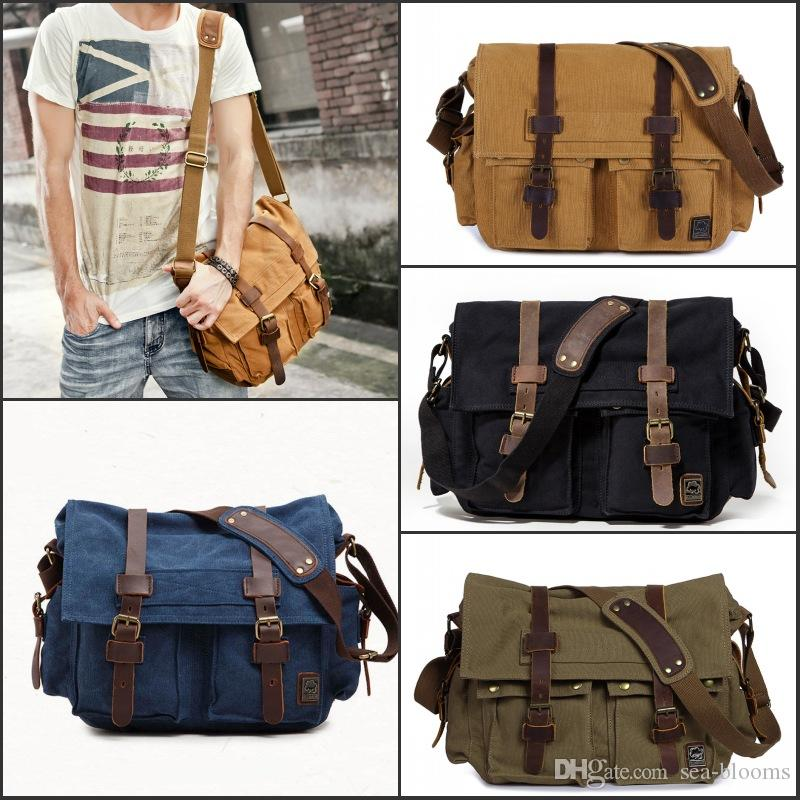 Duffle Large Canvas Travel Tote Portable Luggage Bag Sports Holiday Duffel Bag 15 Style Canvas Shoulder Bag 3 Size Free Shipping G160S