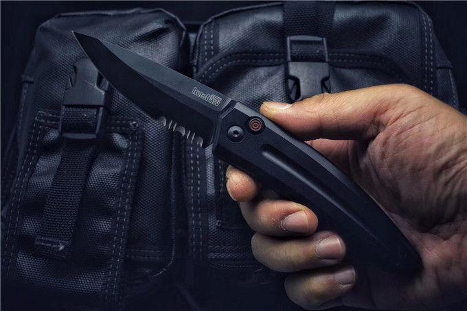 100% OEM Kershaw 7200 Faca alumínio de alta qualidade frete grátis (CNC) faca dobrável ao ar livre Camping Survival Canivetes cortador Facas