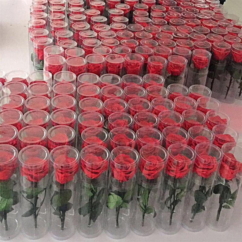 Nuevo diseño Flor eterna Rosa Real Ramo de flores frescas Navidad Día de San Valentín Regalos de cumpleaños Boda Romántica Boda real