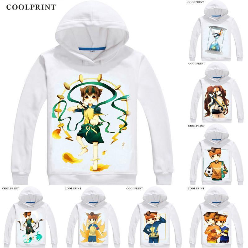Endou Mamoru Hoodies Dos Homens Mark Evans Inazuma Onze GO Homens Camisola Streetwear Anime Hoodie Impresso Longos Com Capuz