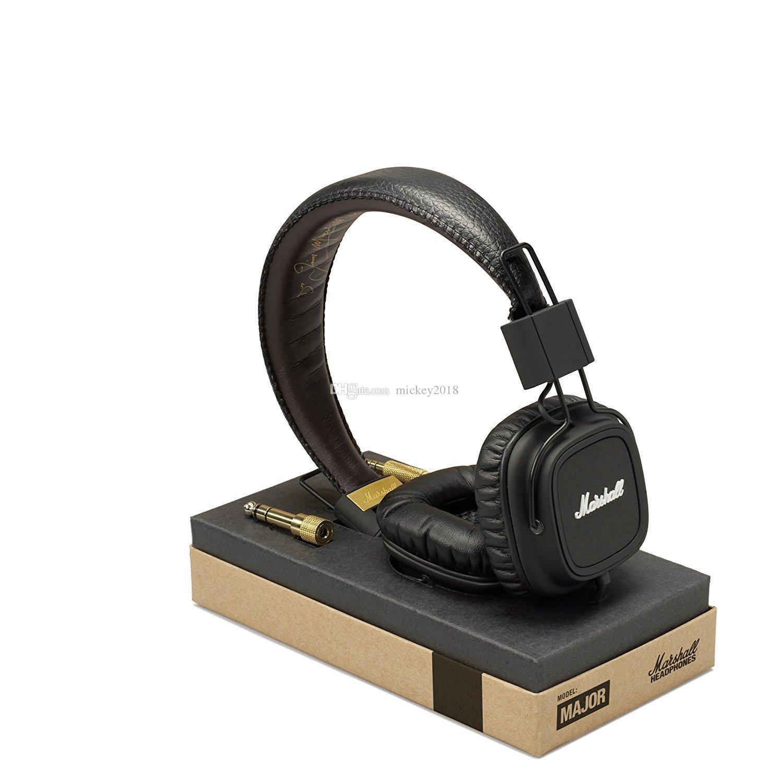Marshall Major I-Kopfhörer Mit Mikrofon Deep Bass DJ-HiFi-Kopfhörer HiFi-Headset Professioneller DJ-Monitor-Kopfhörer