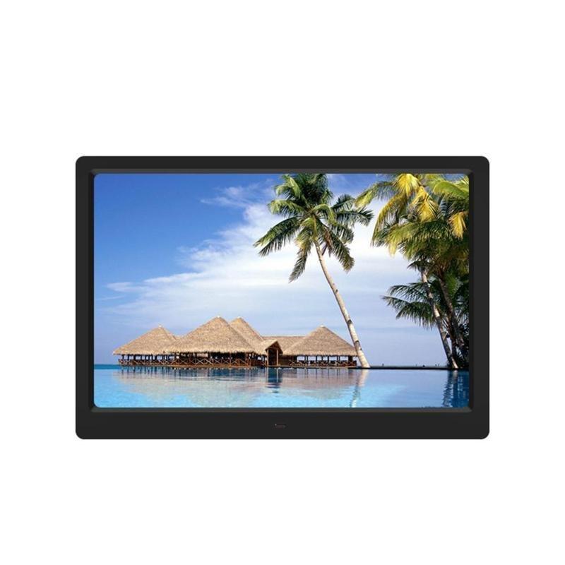 15.4 дюймов цифровой HD фоторамка MP3 MP4 фильм видео плеер фоторамки календарь будильник цифровые фоторамки высокое качество