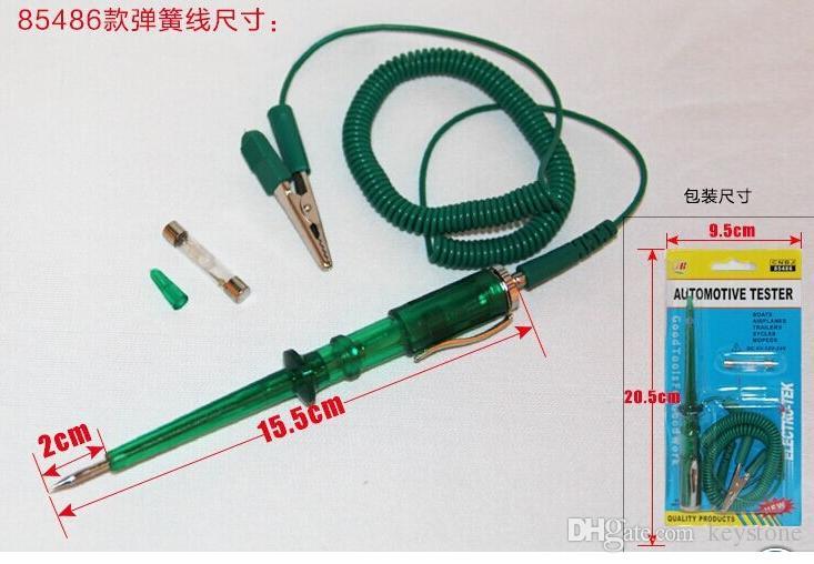 Car Motorcycle Circuit Tester 6V 12V 24Volt Gauge Test Voltmeter Light RU