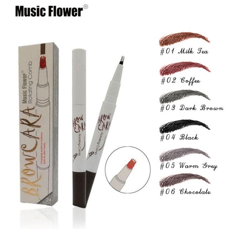 Music Flower Pro Crayon À Sourcils Pour Les Femmes