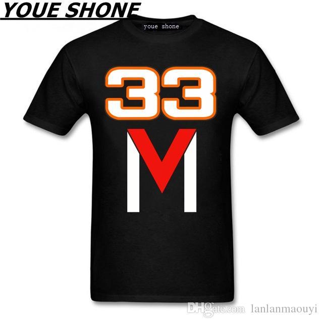 cotone degli uomini di estate di modo maglietta Formule M33 F Raffreddare maglietta Uomini brand design Tee pullover stampato Max Verstappen magliette MM