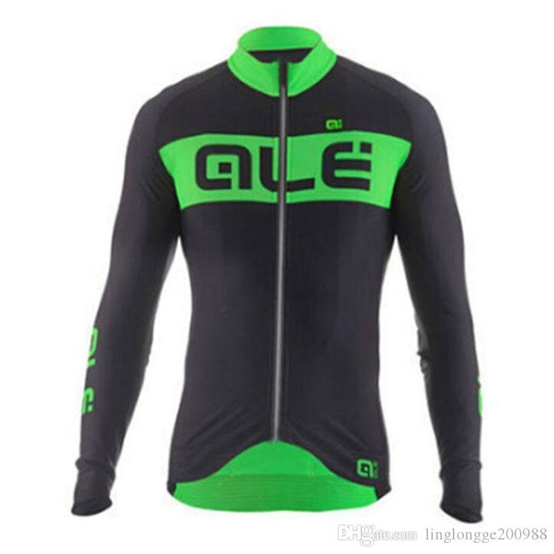 Pro Team 2019 Sonbahar Bisiklet Jersey uzun Kollu Bisiklet Bisiklet Maillot Bisiklet Giyim Gömlek Açık Maillot Ropa Ciclismo