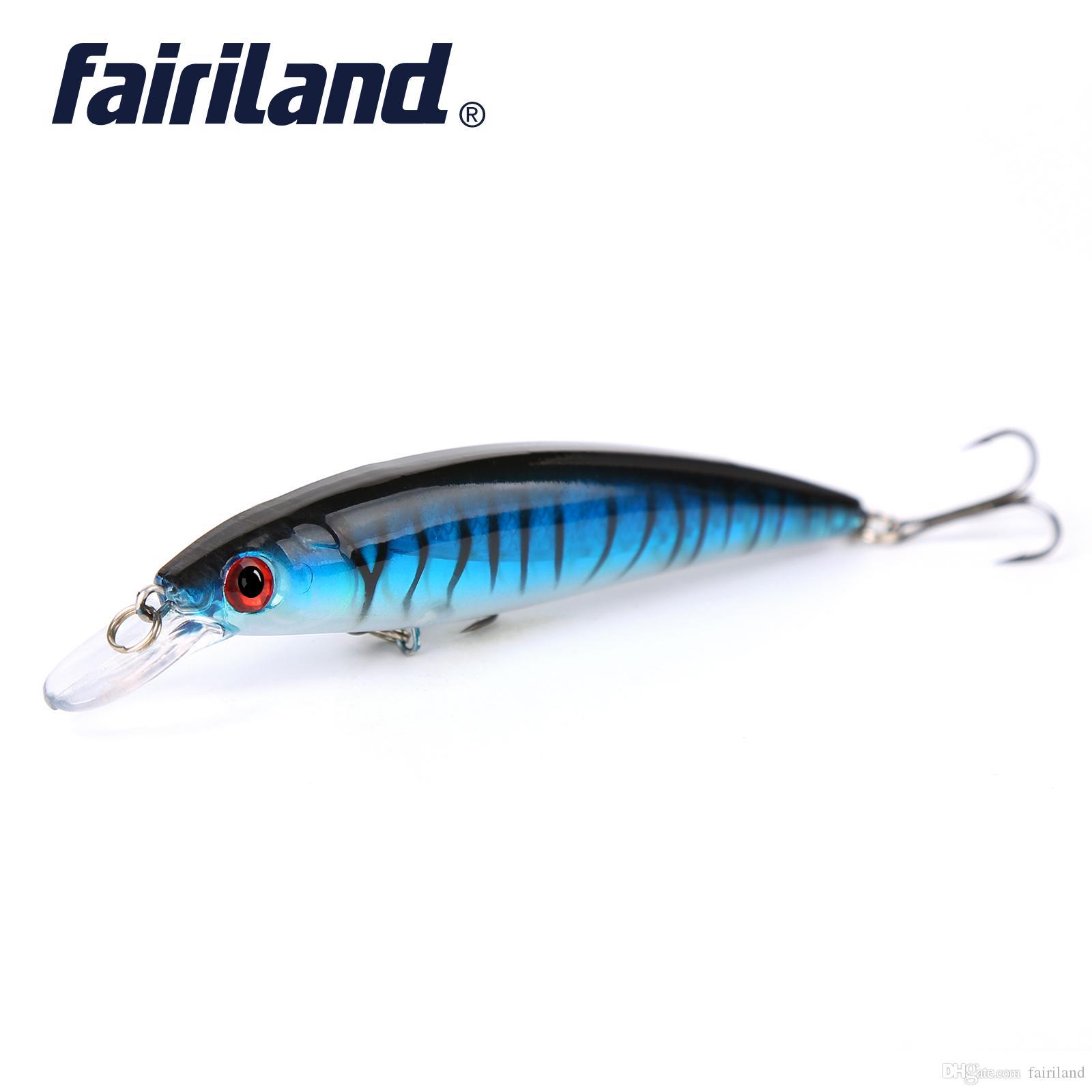 1pcs Minnow Pêche Lure 13.5g / 0,48 oz 11cm / 4.3in Style Classique Minnow appâts de pêche Peche Livraison gratuite Lure