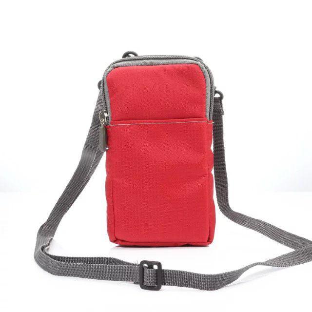 Hook Loop Waist Band Shoulder Belt Phone Case Pouch For Xiaomi Pocophone F1,Mi A2 Lite,Oppo F9/F9 Pro,ZTE Axon 9 Pro,nubia Z18