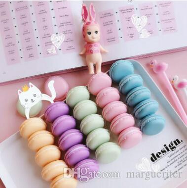 Jewelry Storage Box Mini Macaron Case Creative Earring Display Organizer Candy Color Cute Necklace Container 4 cm