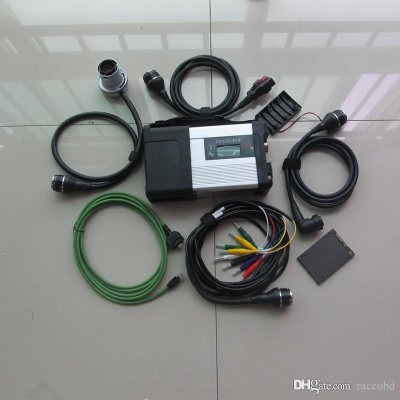 Strumento di diagnosi C5 compatto MB Star con super SSD HDD Xentry EPC WIS Auto e scanner per camion
