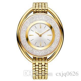 2019 popüler Lüks kadın İzle koşu elmas ile Moda lady elbise İzle modeli Kadınlar İzle ünlü tasarım saat Relojes De Marca Mujer