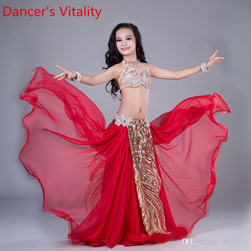 iEFiEL Reggiseno da Danza del Ventre Donne con Paillettes Top Corto da Latino Ballo Salsa Ragazze Bra con Imbottito Frange Vestito da Danza Classica Spettacolo Discoteca