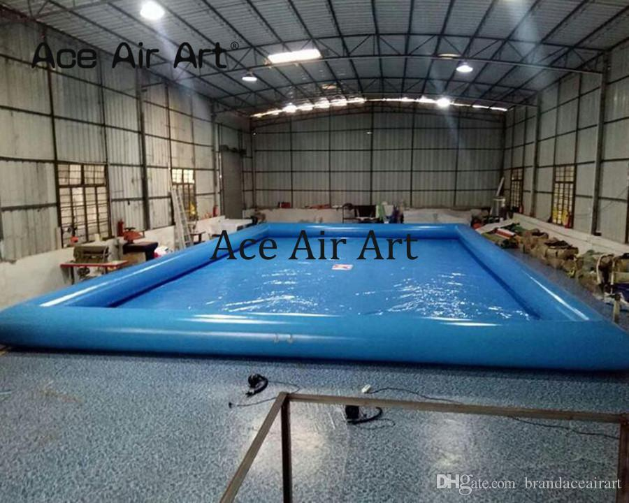 2019 Portable 1.2m H Inflatable Water Pool,Pup Up Swimming Pool With Free  Air Blower For Waterpark Entertainment From Brandaceairart, $1325.83 | ...