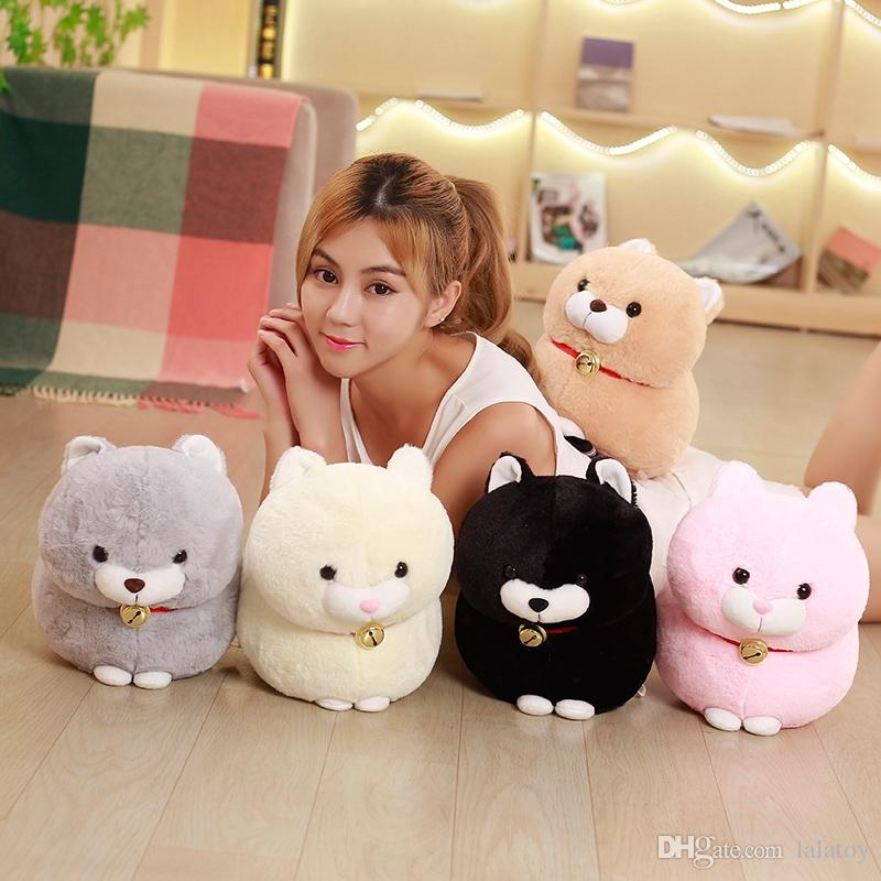 30cm Amuse Fortune Cat Lucky Cats Plush Toy Staffed Cartoon Soft Animal Toys Kids Baby Dolls Cute Birthday Gift for Girls LA065