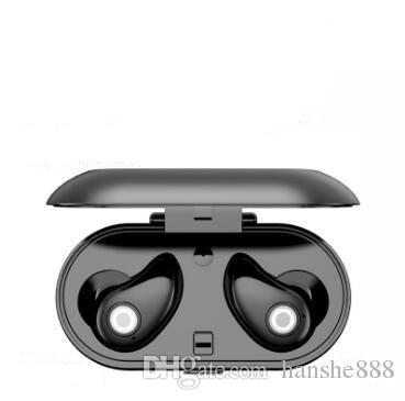 A8 sem fio mini-estéreo binaural discrição headset Bluetooth impermeável com o carregamento do compartimento
