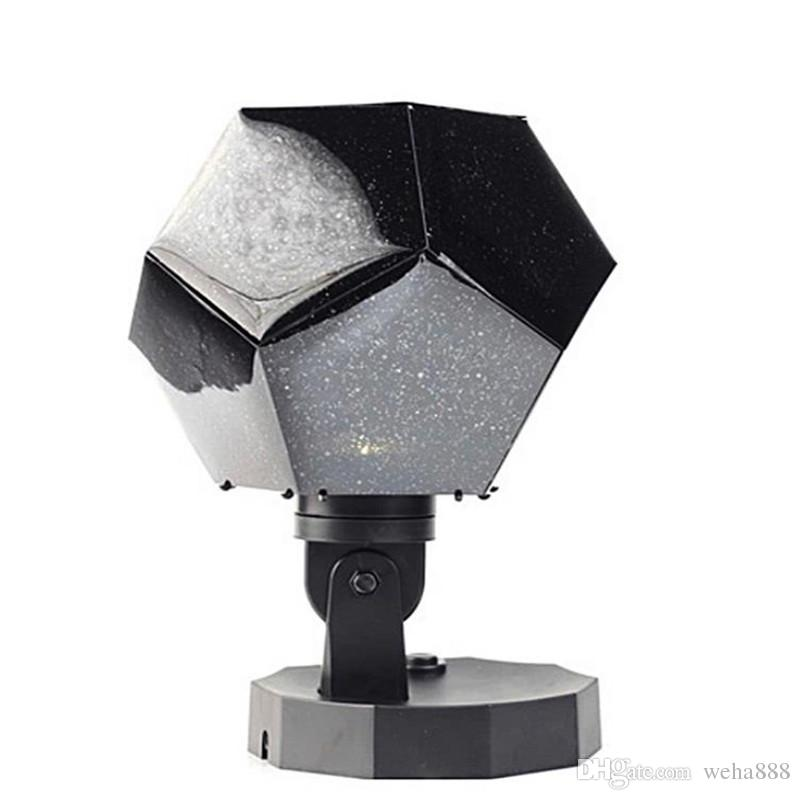 2018 efficient star projection universe night light projector 12 romantic constellation projection lamp Christmas decoration lamps
