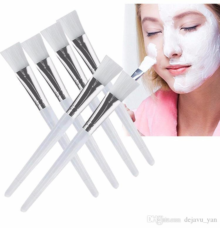 Good Facial Mask Brush Kit Makeup Brushes Eyes Face Skin Care Masks Applicator Cosmetics Home DIY Facial Eye Mask Use Tools Clear Handle