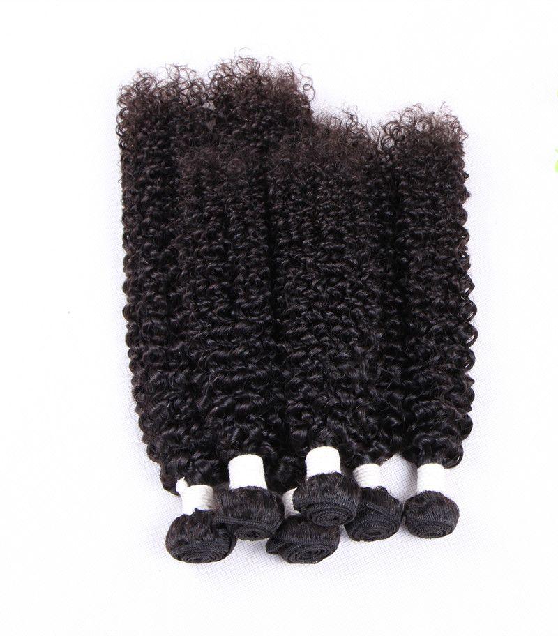 Elibess бренд Реми волосы Джерри кудрявый вьющиеся девственные волосы плотно вьющиеся переплетения 3 шт. много дешевой цене человеческих волос пучки, бесплатная доставка