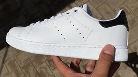 chaussures stan toutes neuves chaussures de sport smith chaussures casual en cuir hommes femmes appartements chaussures de sport jogging baskets appartements classiques.