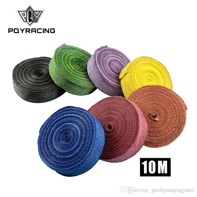 "PQY RACING - 2"" *10meter Thermal Wrap,exhaust insulating warp,header warp ,exhaust pipe warp+ 4 pcs Ties PQY1810"