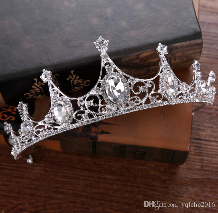 Nuovo copricapo da sposa, squisita diamante, Principessa ereditaria della corona da sposa accessori da sposa
