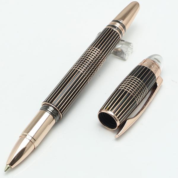 Lüks Tükenmez Kalem Ofis Okul Malzemeleri Yazma Için Caneta Criativa MT Paslanmaz Çelik Rulo Tükenmez Kalemler