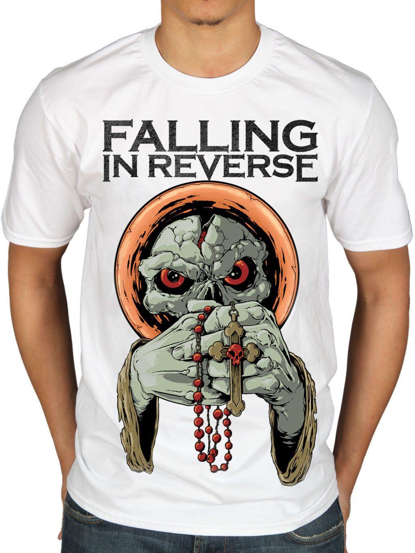 Official Falling In Reverse I'M No Saint T Shirt Rock Ban Merch Ronnie  Radke Print T Shirt Mens Short Sleeve Hot Top Tee Silly T Shirt Make Your  Own