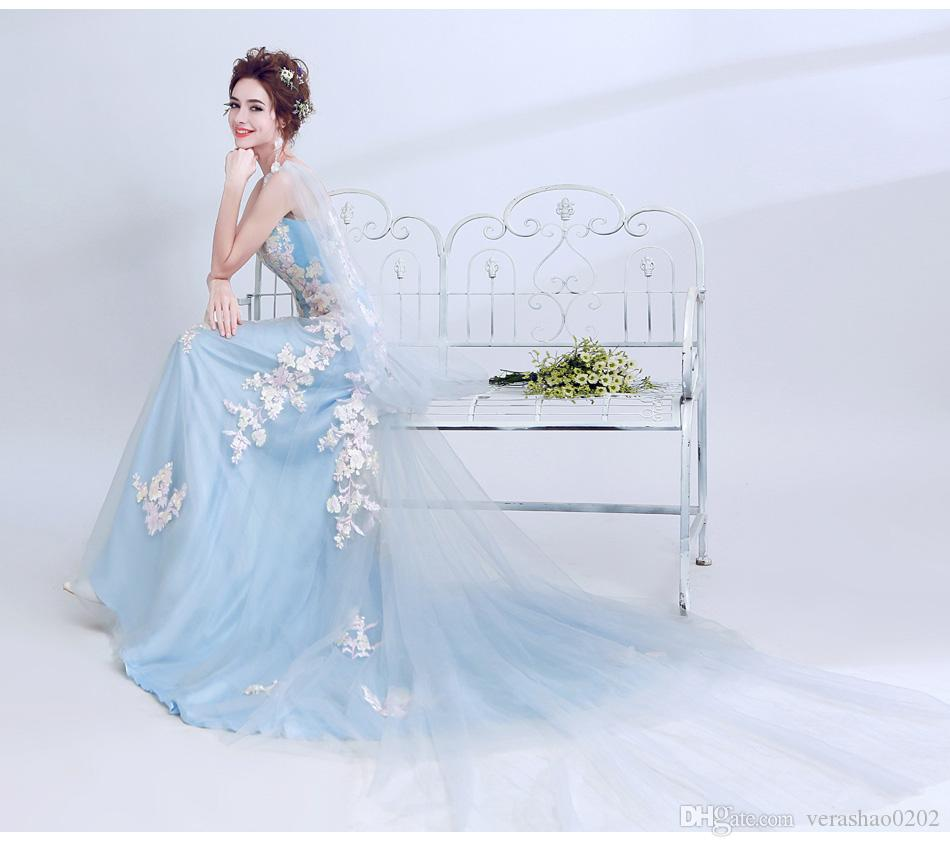 10098 Unique back design stylish steal the blue fish tail mop sweet ...
