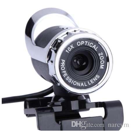 أحدث كاميرا USB 12 ميجا بكسل عالية الوضوح كاميرا الويب كاميرا 360 درجة MIC كليب على سكايب للكمبيوتر