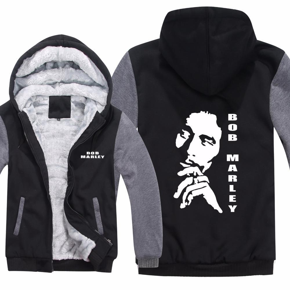 Acheter Reggae Bob Marley Hoodies Veste Hiver