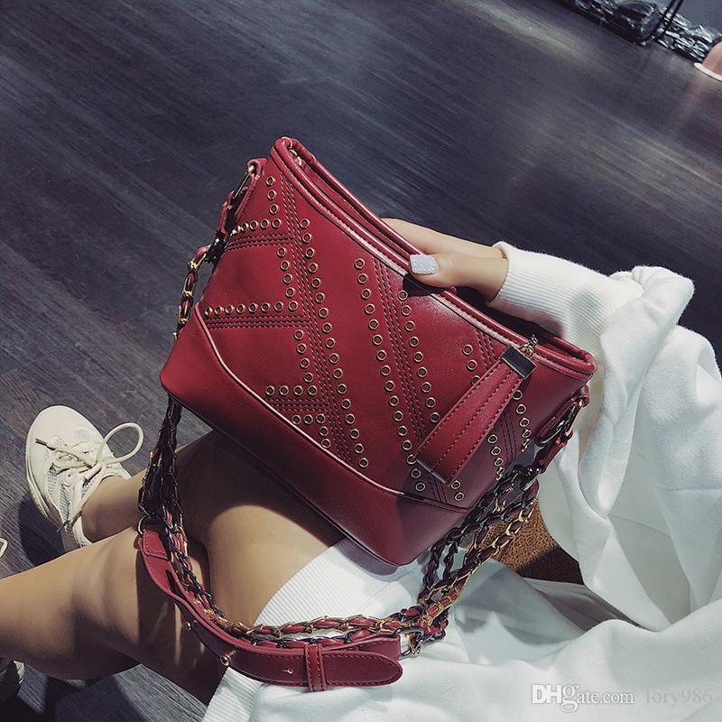 Leder Messenger Hobos Taschen Handtasche Mode Crossbody Clutch Schultergurt Taschen für Frauen Xinyuan / 10