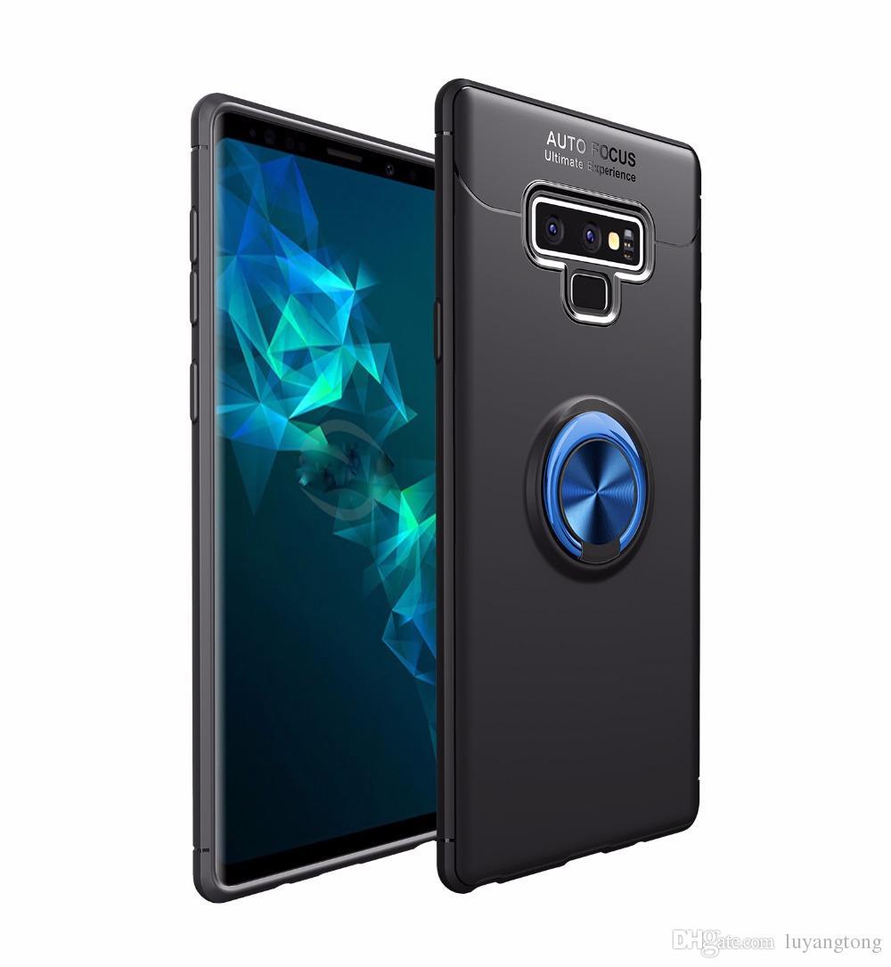 Cas Pour Samsung Galaxy Note 9 Cas Support De Voiture Support D'aspiration Magnétique Mobile Couverture De Téléphone Note 8 S9 Plus S8 Plus