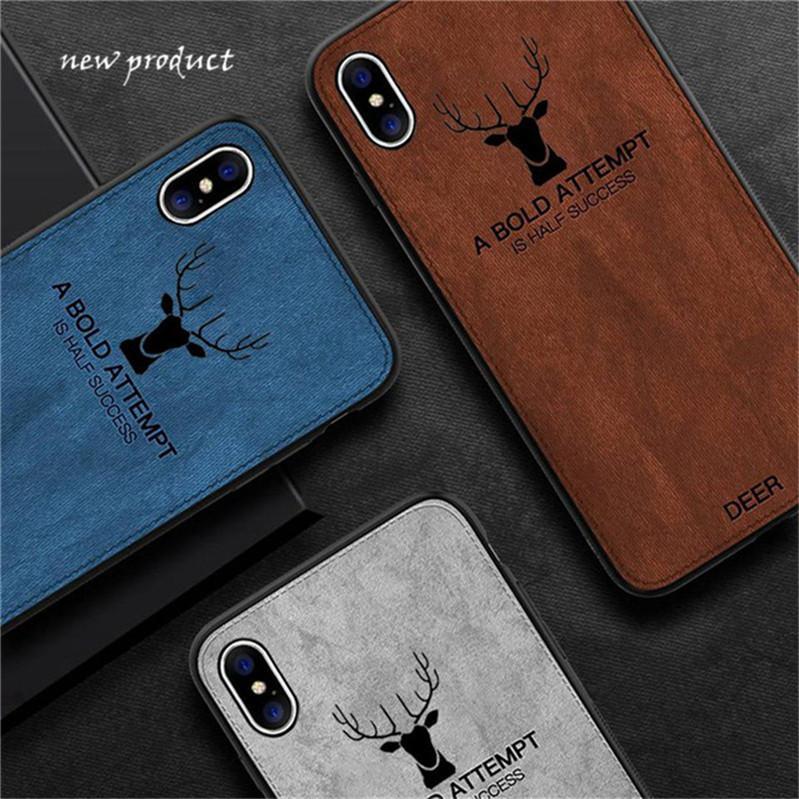 Luxo batman natal veados pano casos de telefone para o iphone 7 8 6 6 s plus ultra fino e macio capa de silicone para iphoneXs max xr