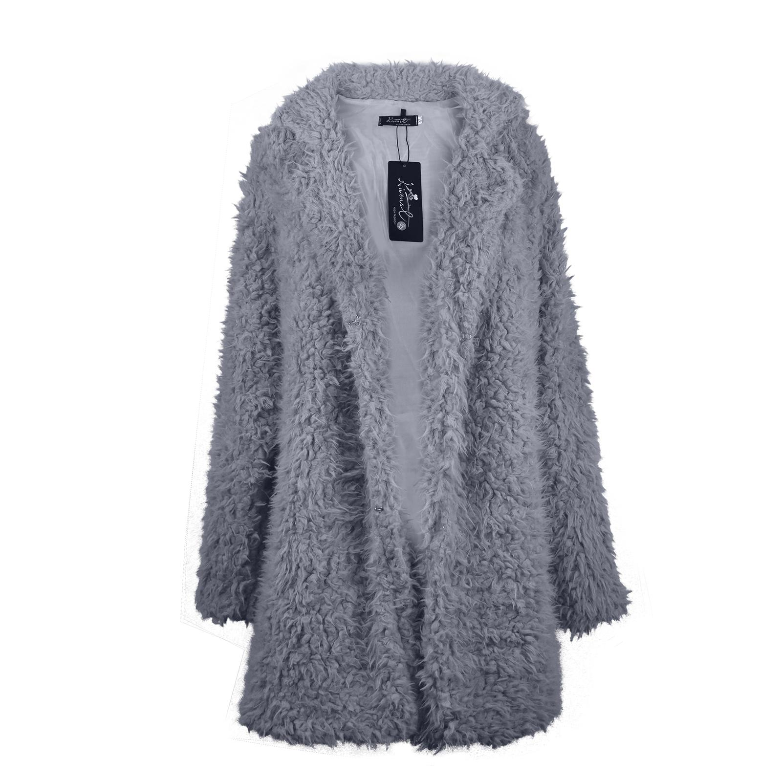 Cappotto di pelliccia delle donne autunno inverno 2016 cappotto cardigan manica lunga femminile cappotto caldo sottile donne calde cappotti outwear