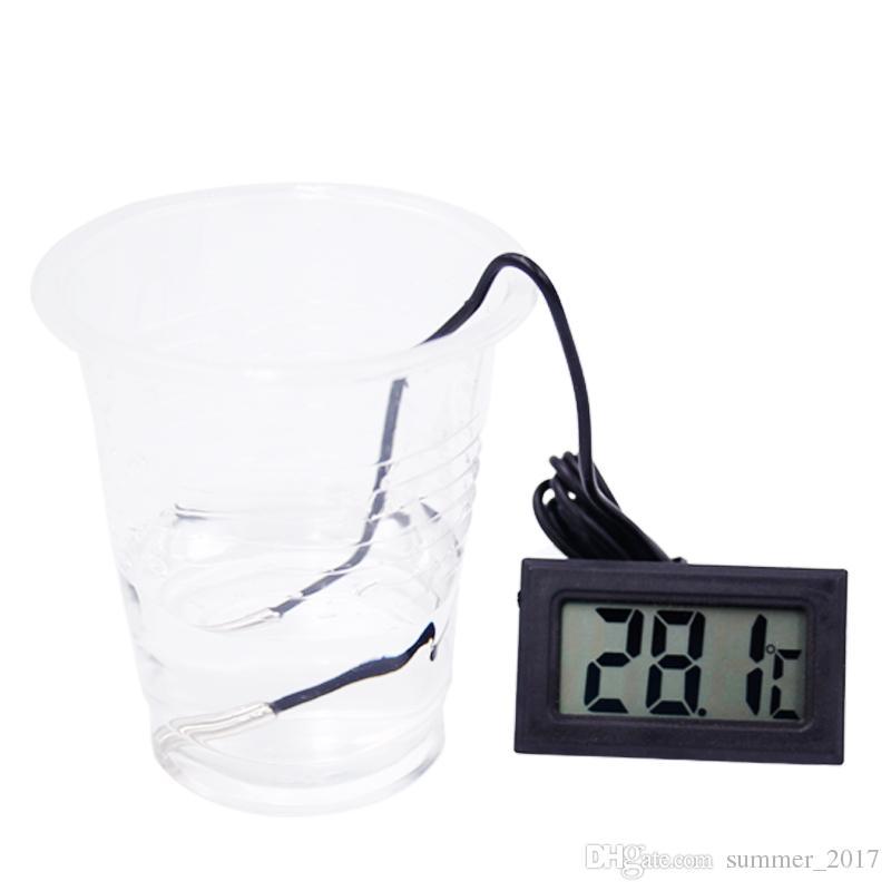 HOT 2016 Numérique LCD Thermomètre pour Réfrigérateur Réfrigérateur Congélateur Température Thermomètres De Ménage Température Instruments -50 ~ 110C GT