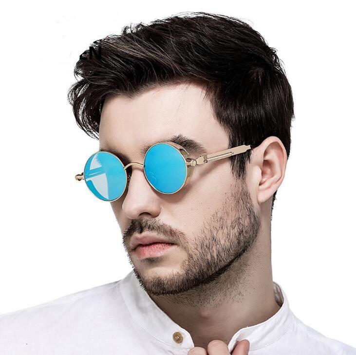 Vintage Retro Polarized Steampunk Sunglasses Fashion Round Mirrored Eyewear  Vintage Shield Eyewear Shades Steampunk Sunglasses Womens Sunglasses  Sunglasses Sale From Abchouse, $4.46  DHgate.Com