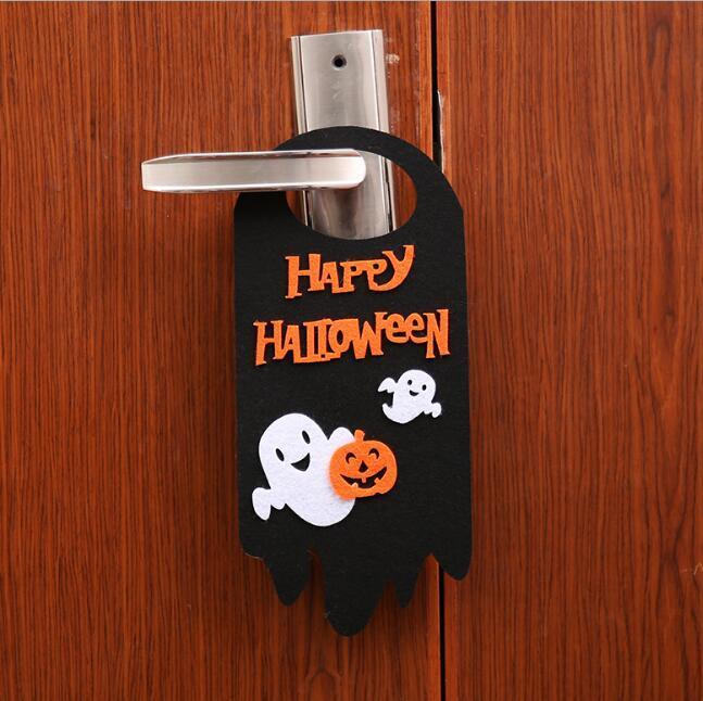 Halloweenowe bajki dyni drzwi wieszak ozdoby Halloween wiszące hakowe ozdoby do pubów Halloween Cosplay Party