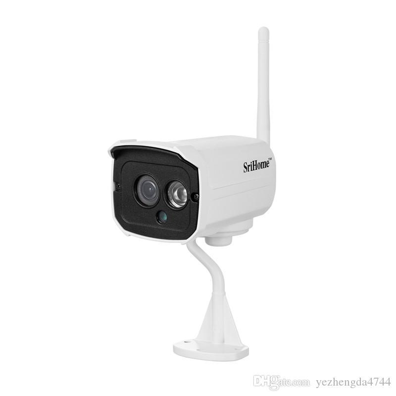 كاميرا الأشعة تحت الحمراء واي فاي HD 1080P كاميرا فيديو عالية الجودة لاسلكية 2MP للماء للرؤية الليلية كاميرا كشف الحركة الرئيسية اللوازم المكتبية