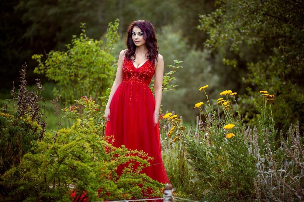 2018 новый сексуальный красный длинные платья выпускного вечера роскошные глубокий V шеи бисером Кристалл рукавов тюль вечернее платье вечерние платья длиной до пола