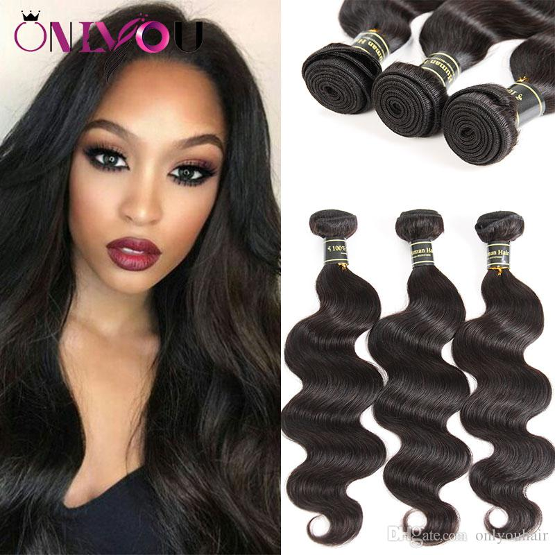 Superior Suppliers 9a Brazilian Virgin Hair Extensions 6 Weaves Bundles Body Wave Human Hair Wefts Soft Body Wave Raw Indian Top Remy Hair
