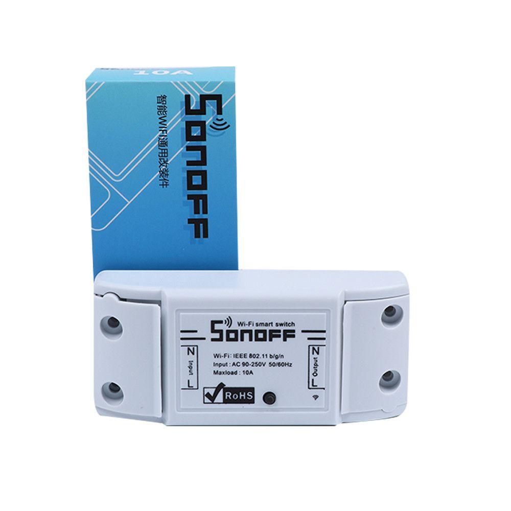 Sonoff Wifi Anahtarı UniversalMobile Telefon APP Uzaktan Wifi Kablosuz Uzaktan Kumanda Zaman Soket Anahtarı akıllı ev