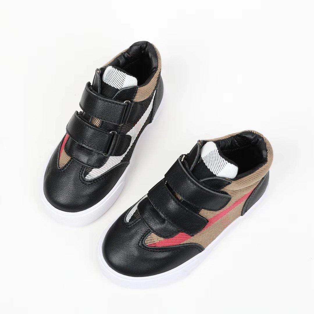 Girls Slip On Leopard Canvas Soft Fur Shoes Casual School Cute  SZ-10-4