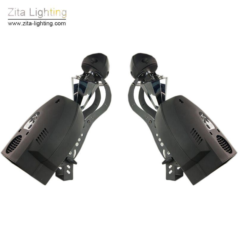 2 pcs/Lot Zita Lighting 200W 5r Scanner Roller Beam Lights Rotate Stage Scan Beam Lighting Barrel Mirrored Moving RGBW DJ Infinitely Effect