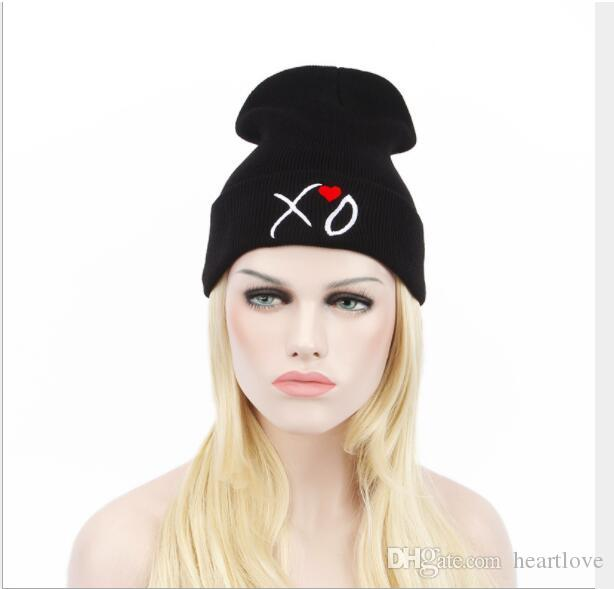 Compre XO Gorros Sombreros Otoño Invierno Cálido Punto De Lana ...