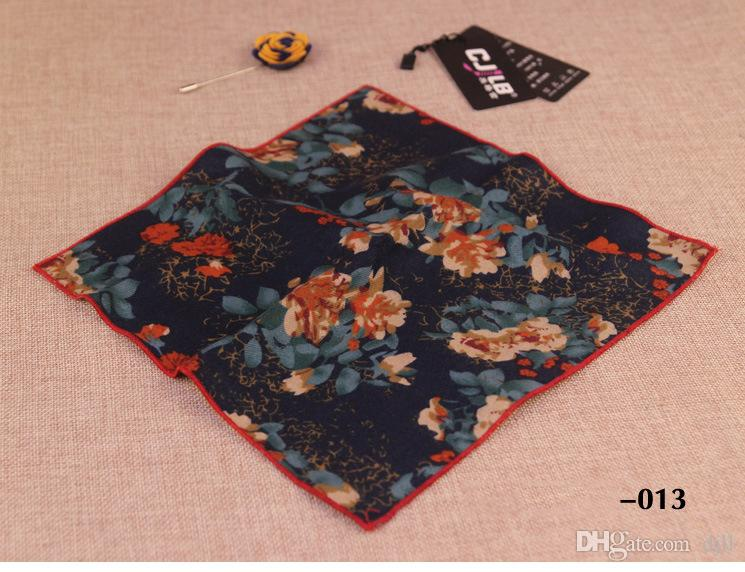 Top Brand Men's cravat scarf Handkerchiefs for Women Cotton Pocket Square Small Hankies Men Square Pockets Hanky Handkerchief for Suits Ties