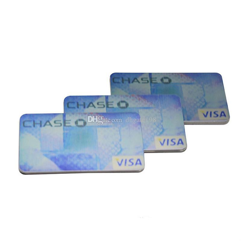 carta di credito fumo tubo di metallo per click n braccialetto di vape tubo di fumo per tabacco sneak un toke grinder Smoking Pipe